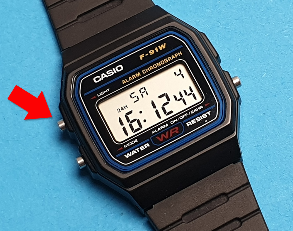 Casio Einstellen